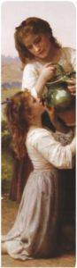 253-William-Adolphe Bouguereau-Kitap Ayracı