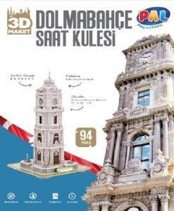 Dolmabahçe Saat <br/>Kulesi 3D