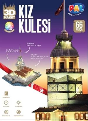 Kız Kulesi 3D <br/>(Led Aydınlat ...