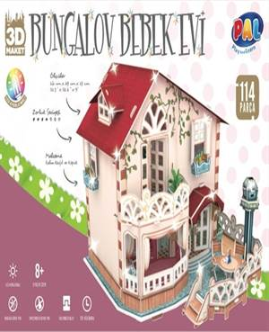 Bungalov Bebek <br/>Evi 3D