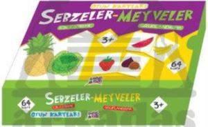 Oyun Kartları - Sebzeler ve Meyveler