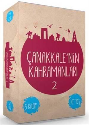 Çanakkale'de Destan Yazanlar 2 (5 Kitap)