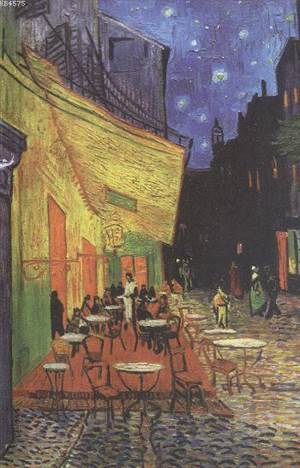 Vincent Van Gogh; Cafe Terrace At Night