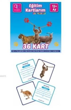 Q Bebek Eğitim Kartlarım - Hayvanlar