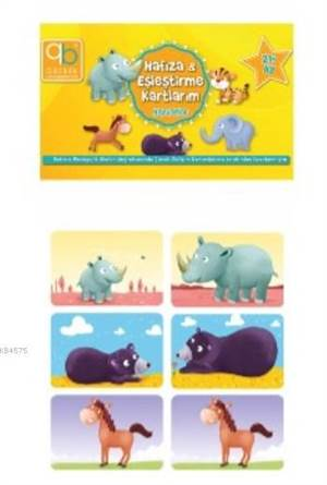 Bebek Hafıza Ve Eşleştirme Kartlarım - Hayvanlar