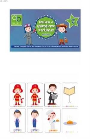 Bebek Hafıza Ve Eşleştirme Kartlarım - Meslekler