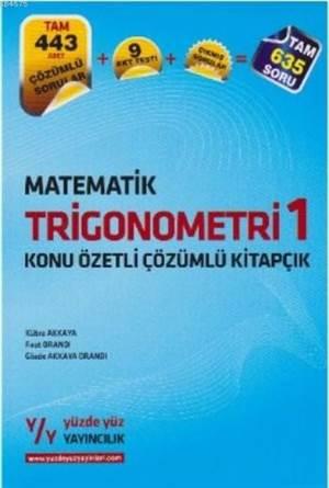 Matematiktrigonometri 1 Konu Özetli Çözümlü Kitapçık