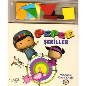 Mıknatıslı Kitap-Şekiller 245001