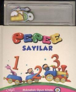 Mıknatıslı Oyun Kitabı : Pepee Sayılar
