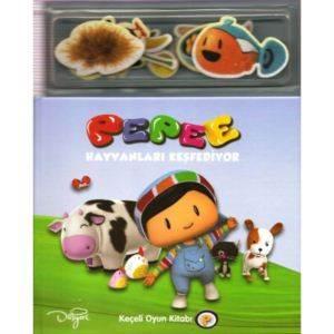 Keskin Pepee Keçeli Kitap-Hayvanlar 245101
