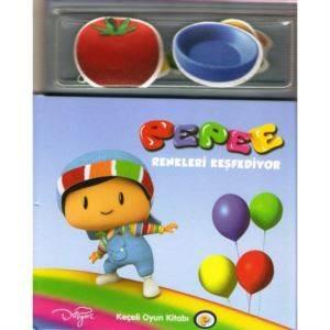 Keskin Pepee Keçeli Kitap-Renkler 245103