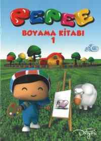 Pepee-Boyama Kitabı (2 Model)