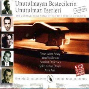 Unutulmayan Bestecilerin Unutulmaz Eserleri 1. Kolleksiyon (5 CD Bir Arada)