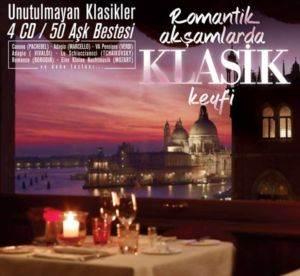 Romantik Akşamlarda Klasik Keyfi 4 CD