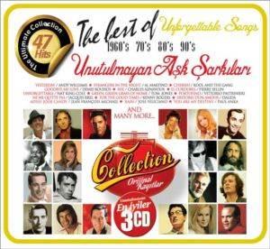 Unforgettable Unutulmayan Aşk Şarkıları 3 CD