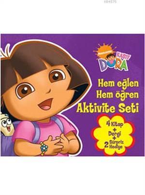 Dora Eğleniyorum Öğreniyorum Seti (3 - 6 Yaş)