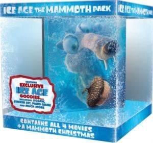 Ice Age (Buz Devri) 5'li Hediye Seti DVD