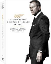 007 Casinoroyale, Quantumofsolace, Skyfall (Dvd)