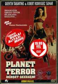 Dehşet Gezegeni Dvd
