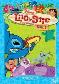 Lilo & Stiç Çizgi filmleri Disc - 1
