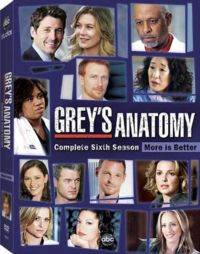 Greys Anatomy Sezon 6 (DVD)