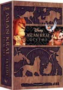 Aslan Kral 3'lü Box Set