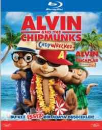 Alvin ve Sincaplar Eğlence Adası (Blu-Ray)