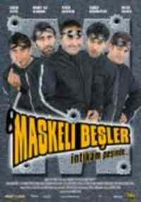 Maskeli Beşler İntikam Peşinde Dvd