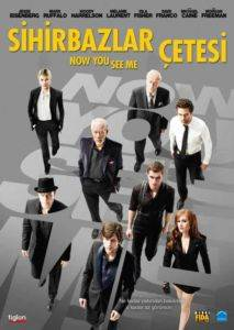 Sihirbazlar Çetesi - Now You See Me (DVD)