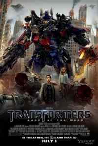 Transformers Ayın Karanlık Yüzü