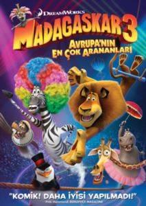 Madagaskar 3 - Avrupanın En Çok Arananları (VCD)