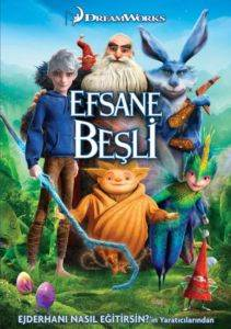 Efsane Beşli - Rise Of The Guardians (VCD)