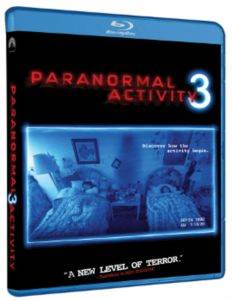 Paranormal Activity 3 (Blue Ray)