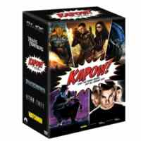Kapow Set-DVD (Watchmen-Gıjoe-Transformers-Star Trek)