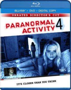 Paranormal Activity-4 (Blu Ray)