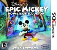 Epic Mickey Power Of Illusion Nintendo 3 DS