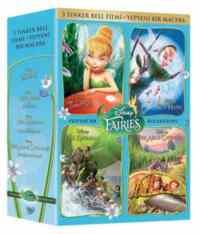 Tinker Bell 4 DVD Box Set