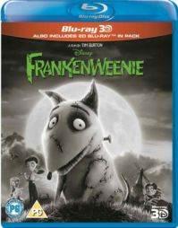 Frankenweenie (3D Blu Ray)