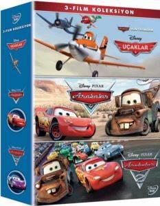 Uçaklar + Arabalar + Arabalar 2    Box Set (DVD)
