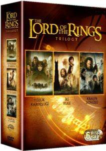 Yüzüklerin Efendisi-Üçleme Özel Kutu 3 Disk (DVD)