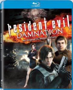 Resident Evil Damnation (Blu Ray Disk)