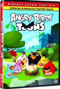 Angry Birds Toons Birinci Sezon – Seri 1 (DVD)