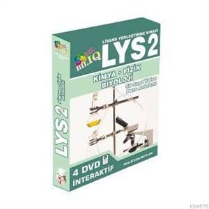 Bil IQ LYS 2 Fizik-Kimya-Biyoloji Hazırlık İnteraktif DVD Seti