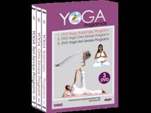 Yoga Programları 3 DVD Box Set