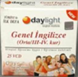 Genel İngilizce VCD Seti ( Orta); 25 Vcd