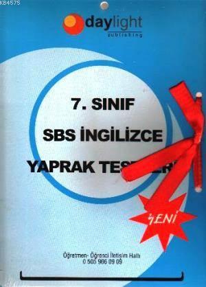 7. Sınıf SBS İngilizce Yaprak Testler