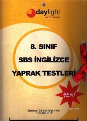 8. Sınıf SBS İngilizce Yaprak Testler