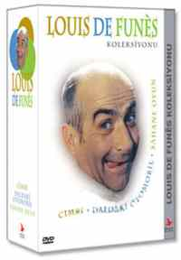 Louis De Funes DVD Box Set (Cimri - Daldaki Otomobil - Şahane Oyun)