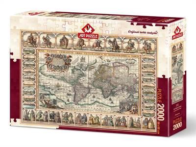 Eski Dünya Haritas ...