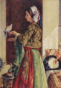 Kız ve Güvercinler ...